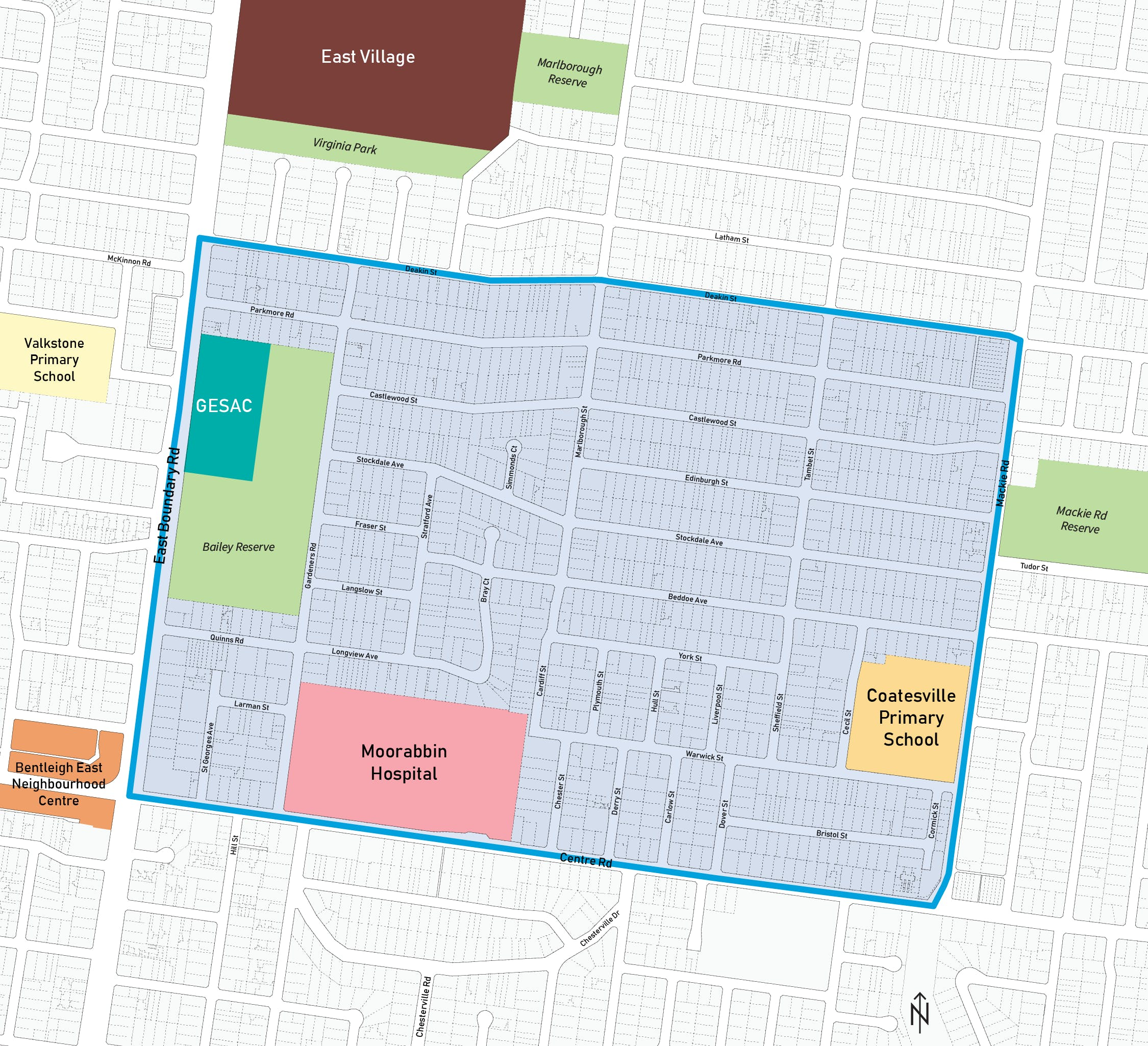 Coatesville School Zone