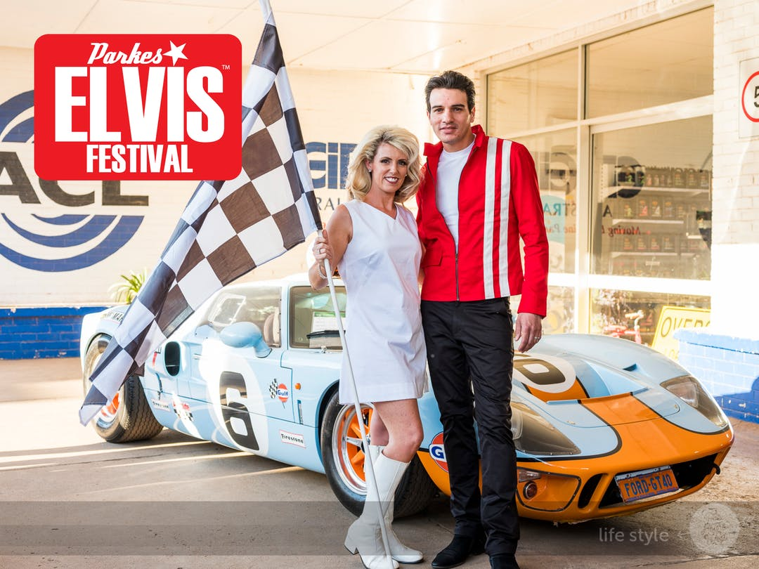 2021 Parkes Elvis Festival - Theme Speedway