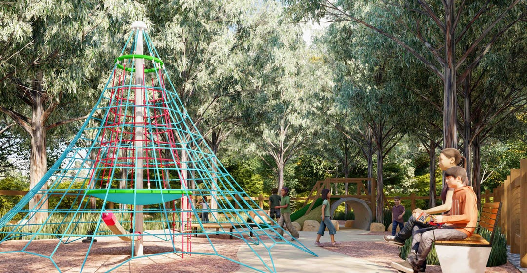 Manly dam playplace