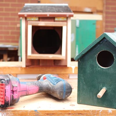 Canning Men's Shed Bird Boxes in development