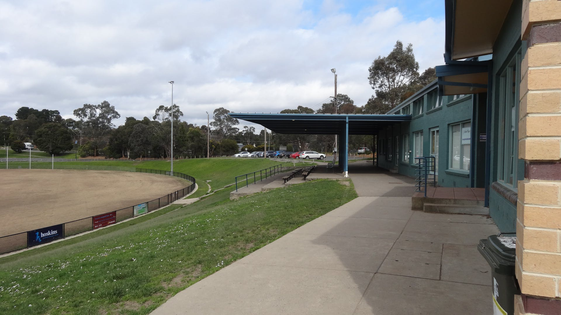 Spectator Stand At Domeney Reserve
