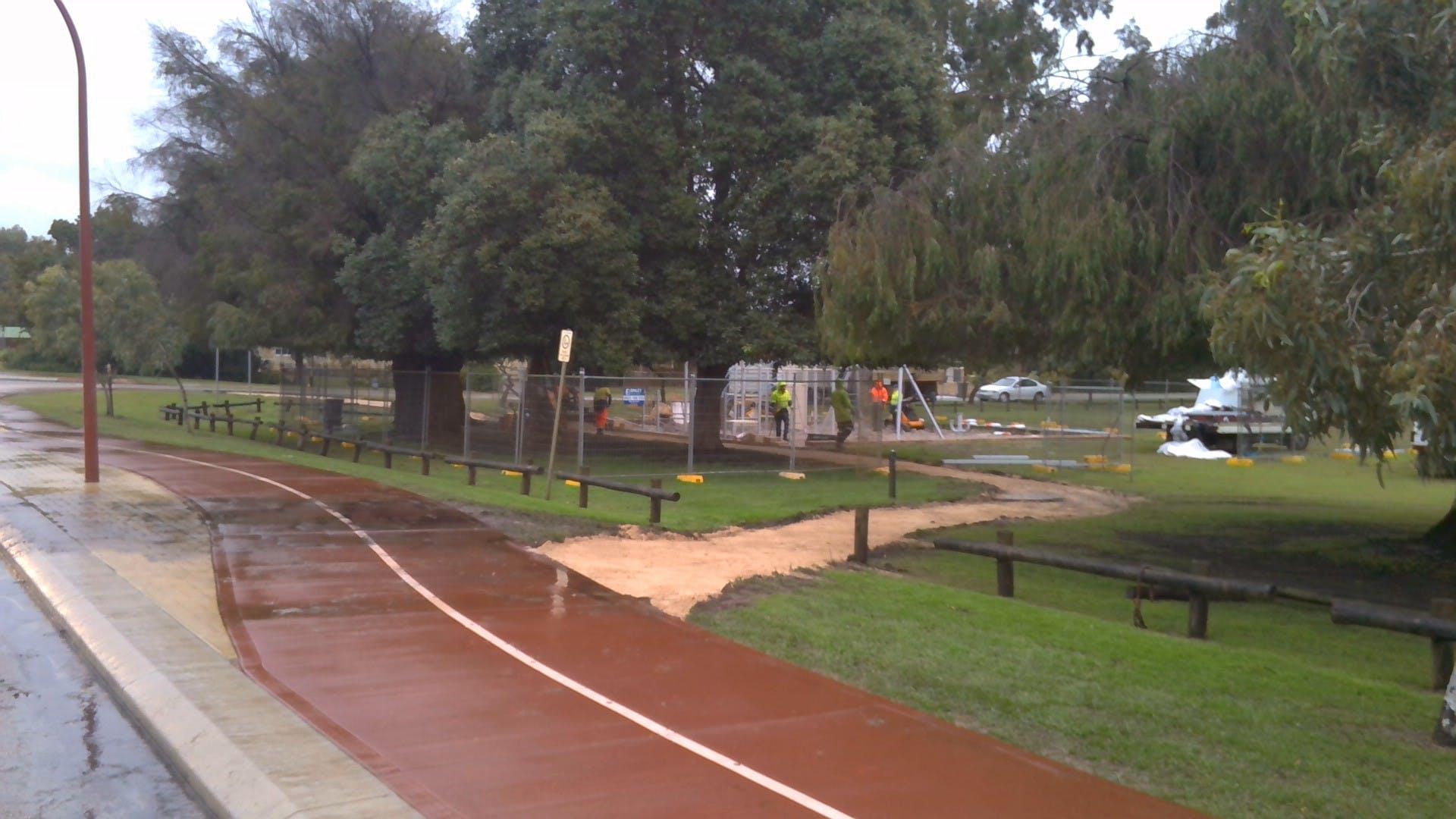 Andrews Park Progress 1