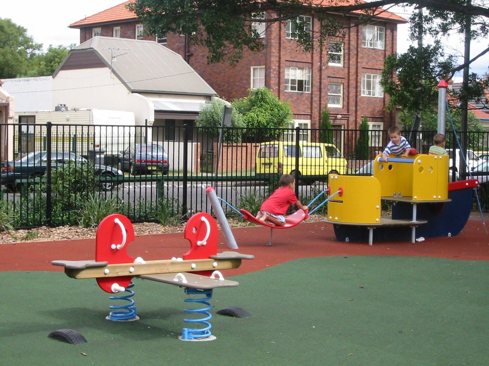 Kokoda Park playground
