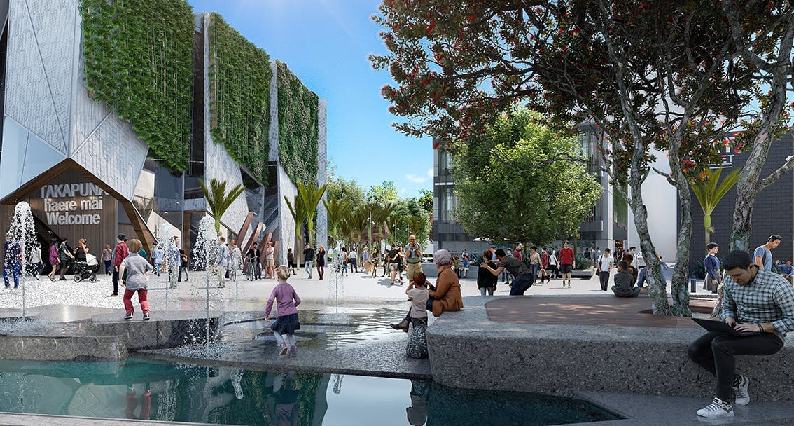 Proposed water feature