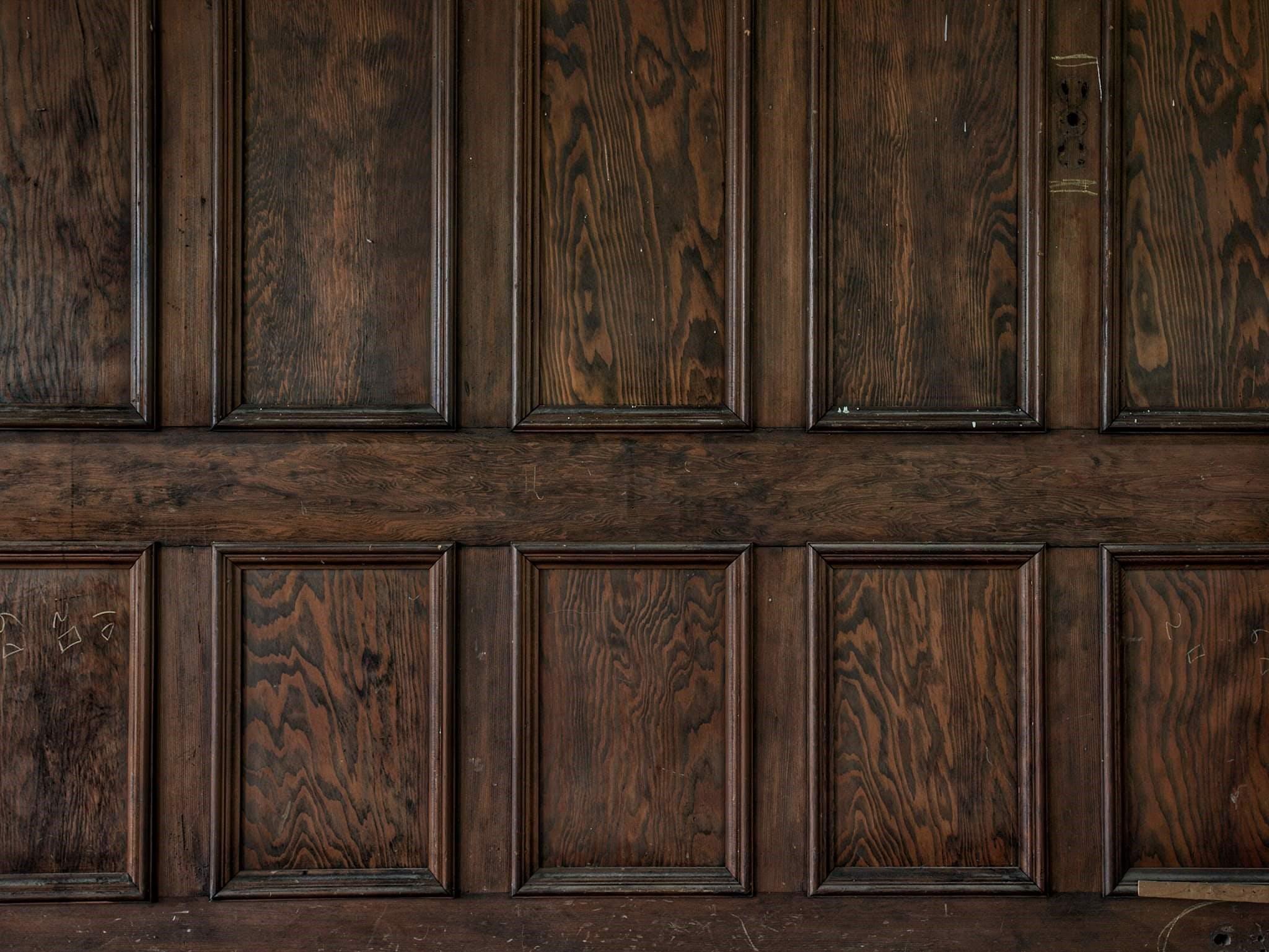 St Brigid's interior wood panelling