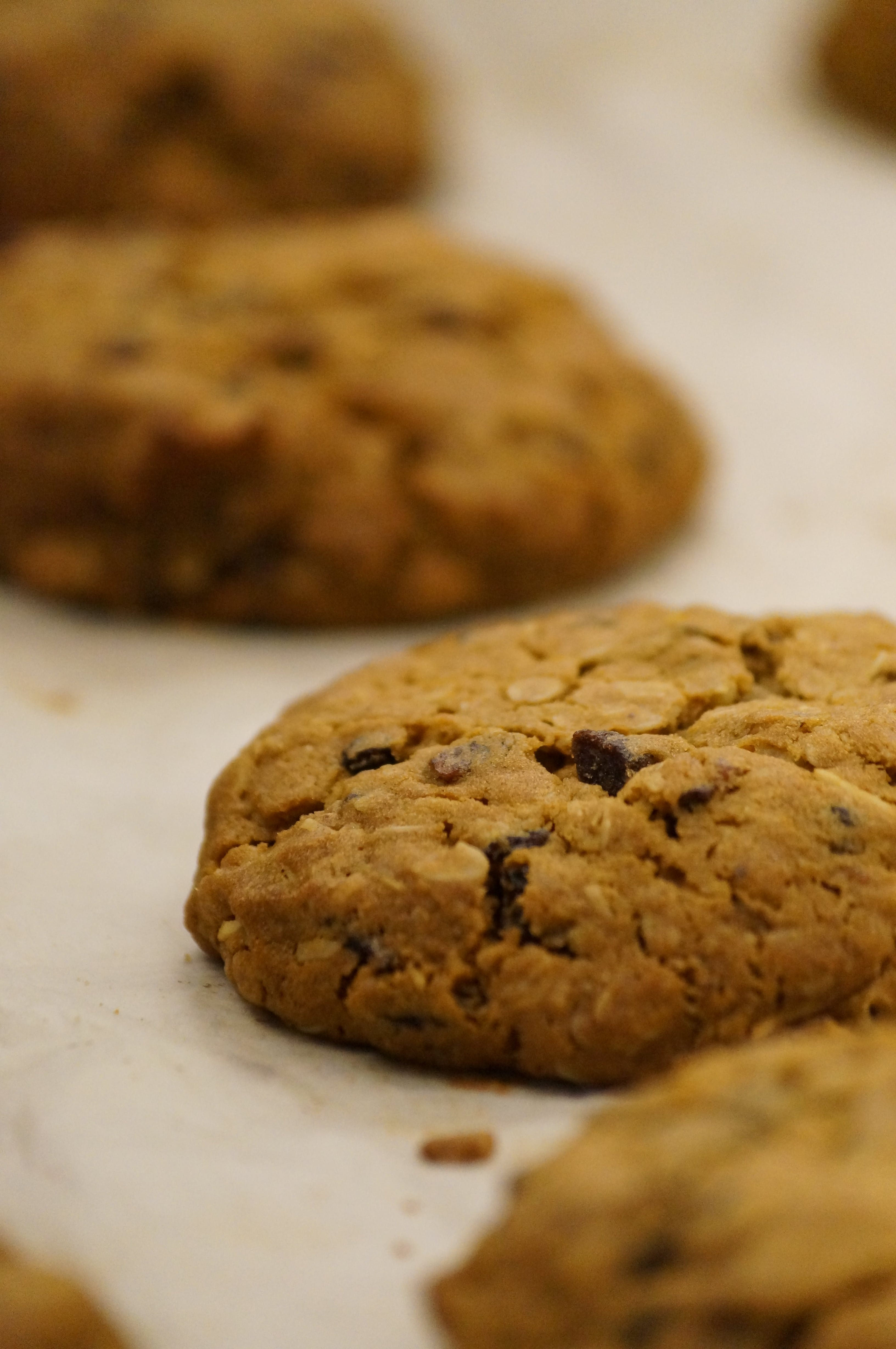 Freshly baked handmade cookies out of the Whisk and Pin oven in katoomba. www.whiskandpin.com.au
