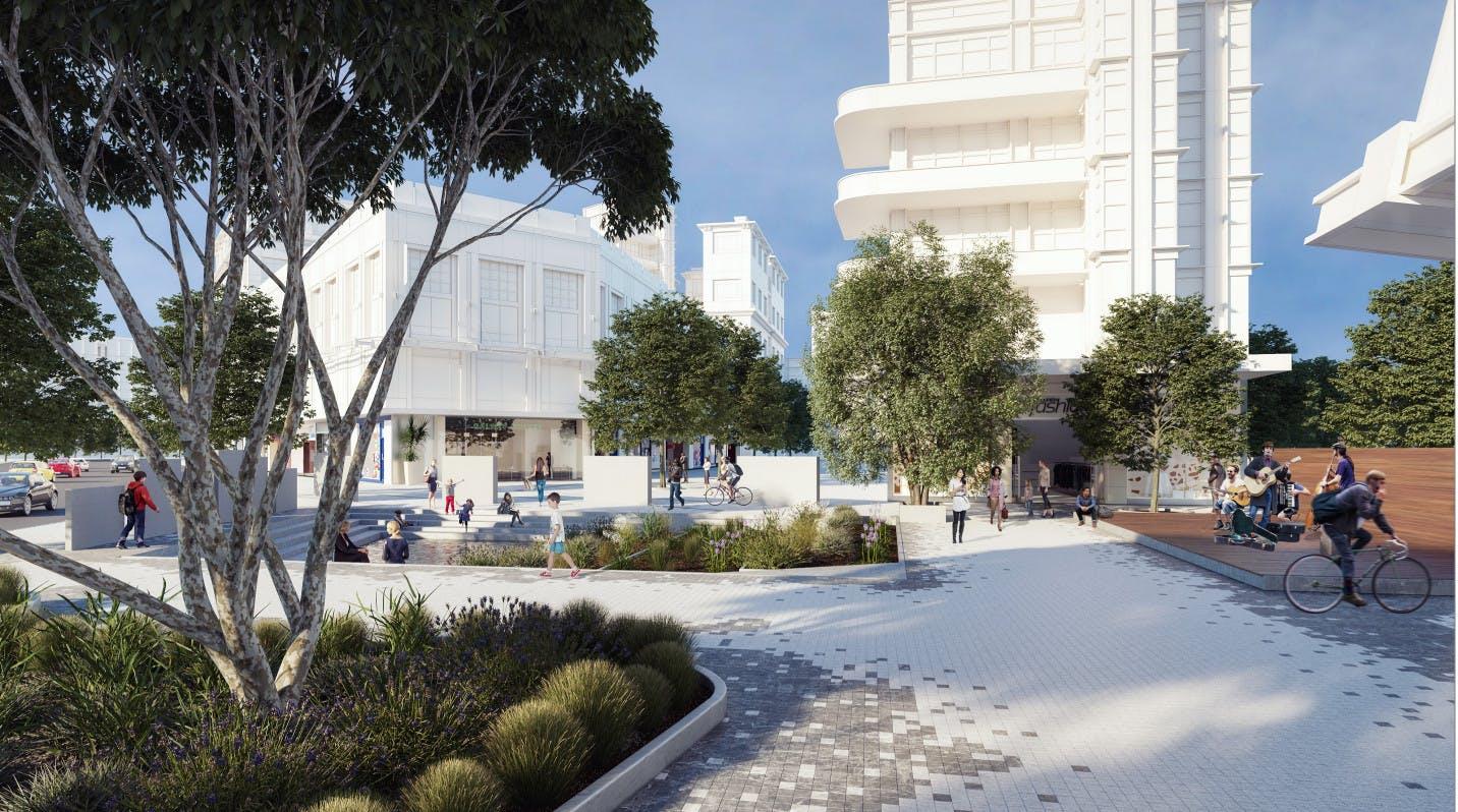 CODA entry - Kensington Water Plaza