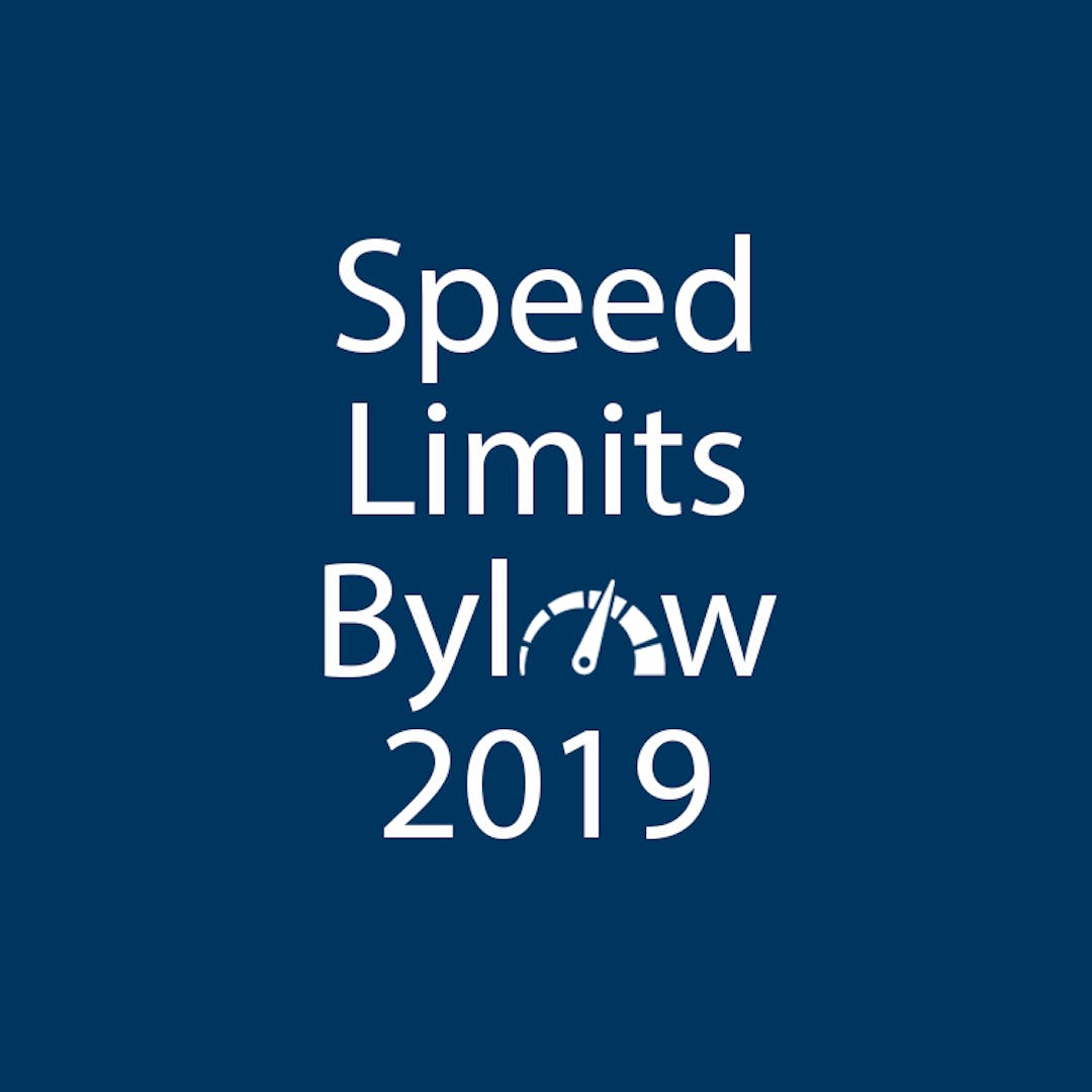 Speed limits bylaw bang the table 750 x 750