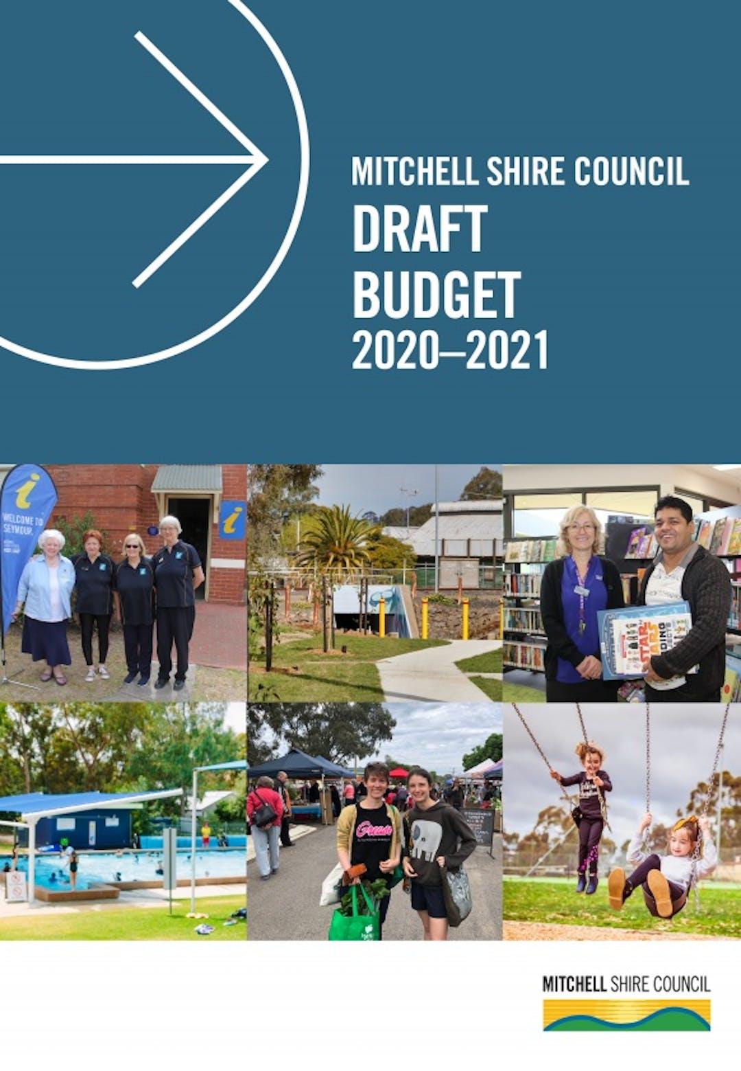 Budget document cover