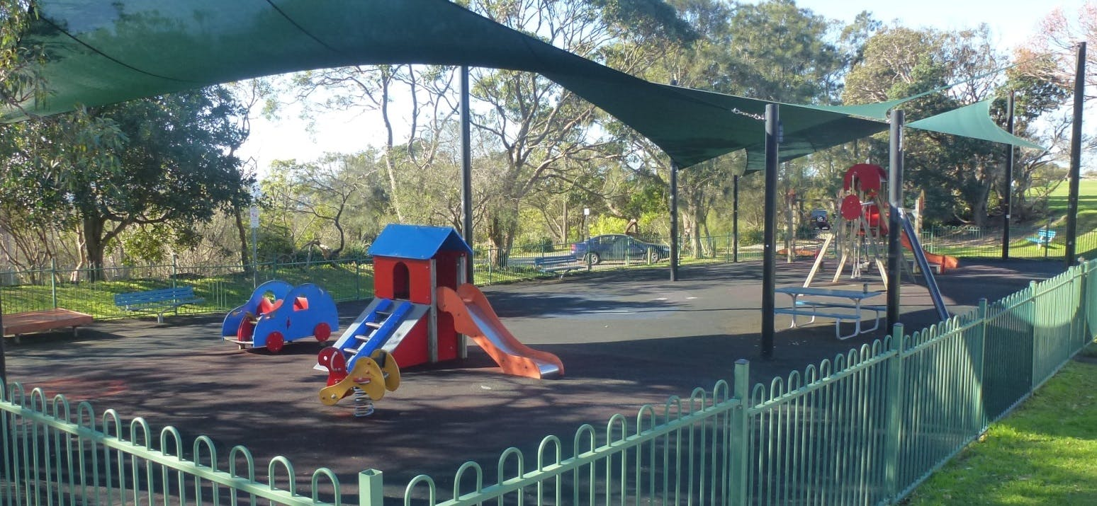 photograph of children's play equipment