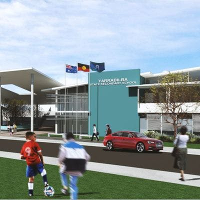 Yarrabilba high school artist impression