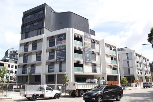 Luna apartments, Old Canterbury Road in Lewisham. Inner West Council gained ownership of four apartments in the development for affordable housing through a Voluntary Planning Agreement (VPA).