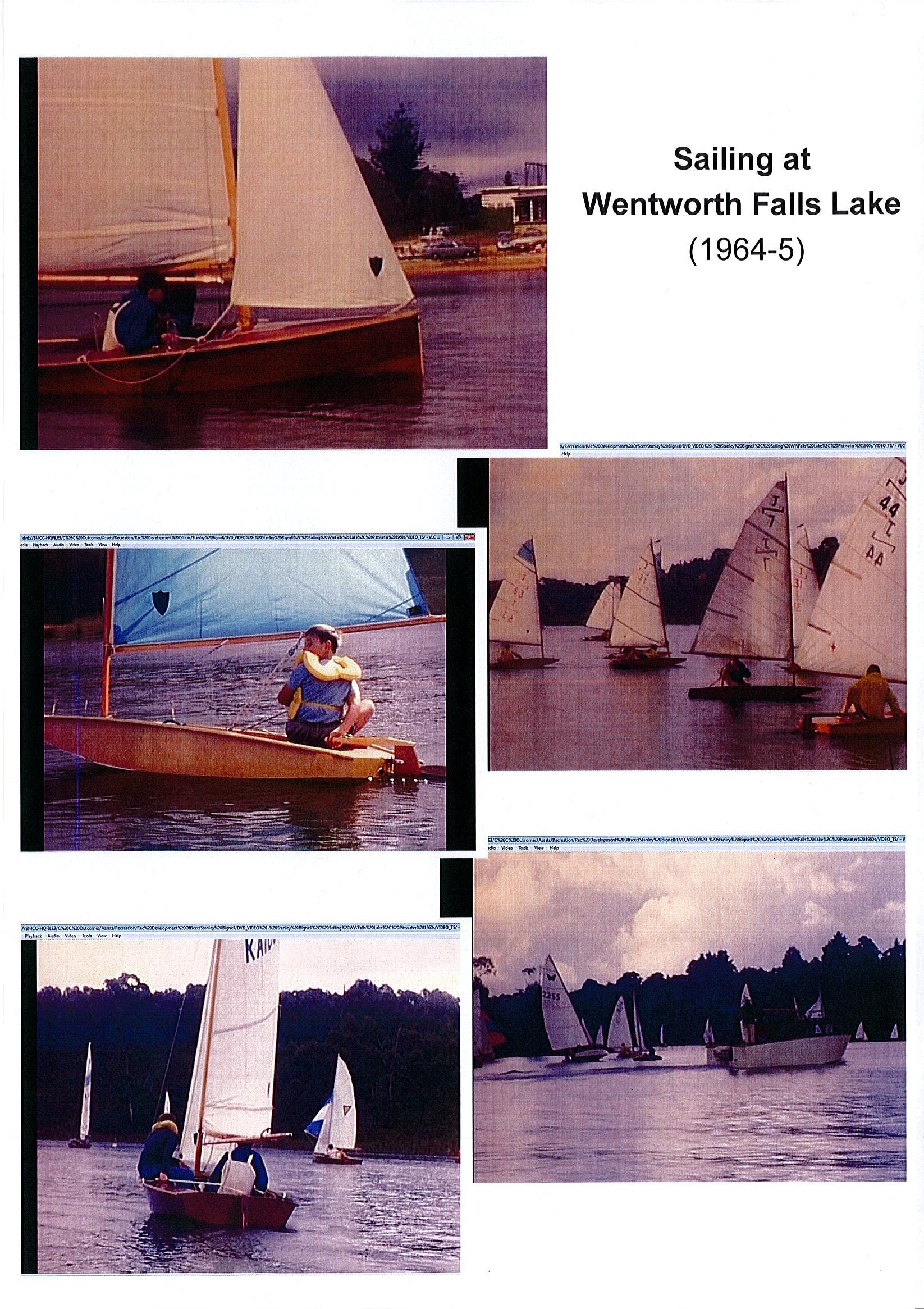 Sailing Pics Ww Falls Lake Stanley Bignell 2