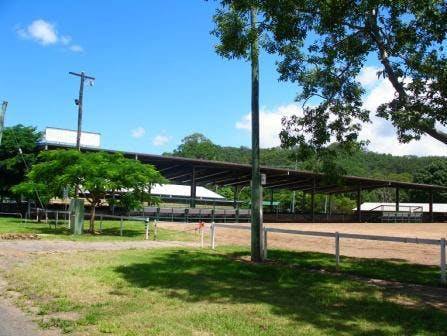 Equestrian arena & stables