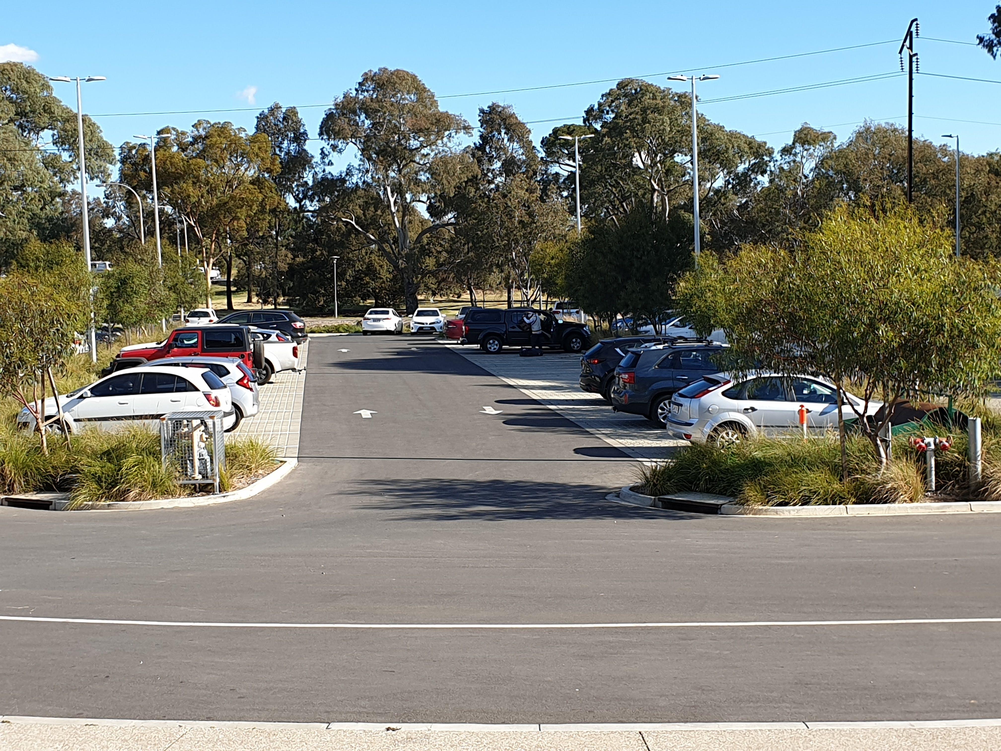 View of South Car Park