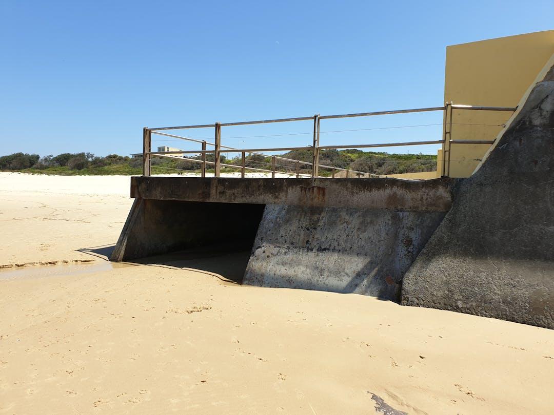 Port kembla stormwater drain