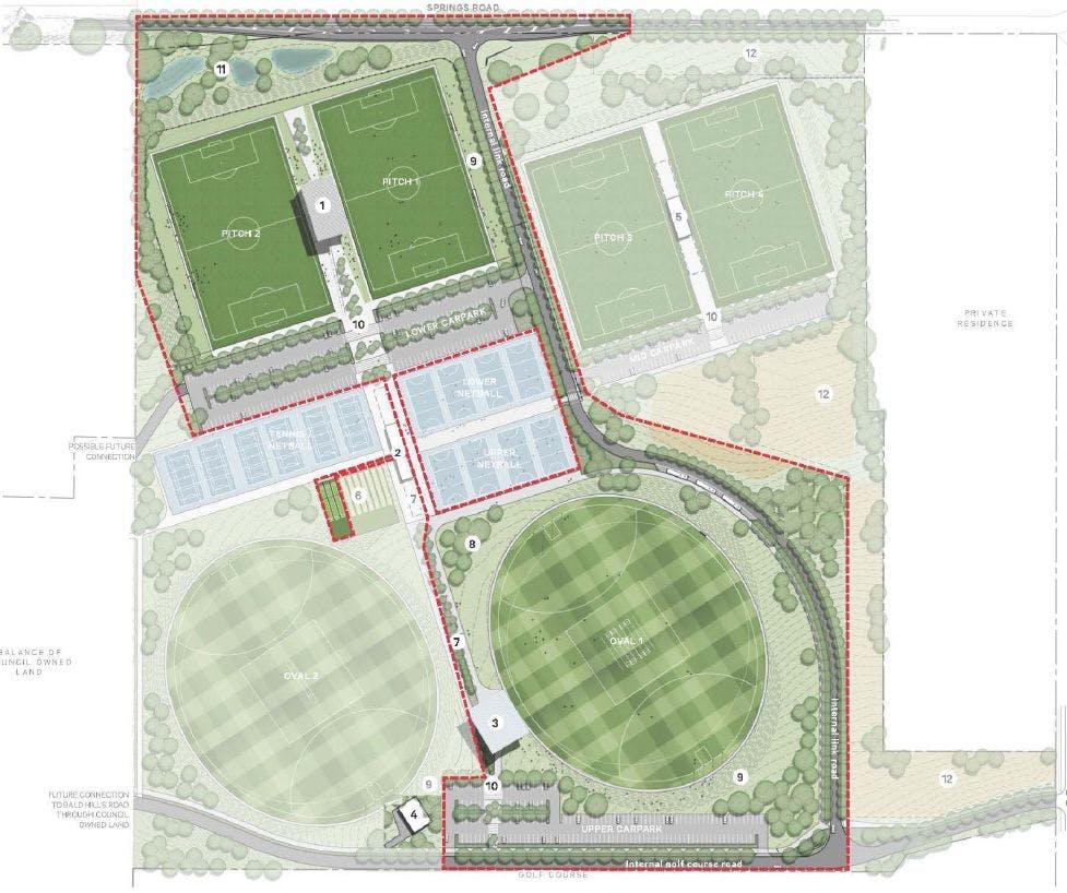 Sports hub - stage 1