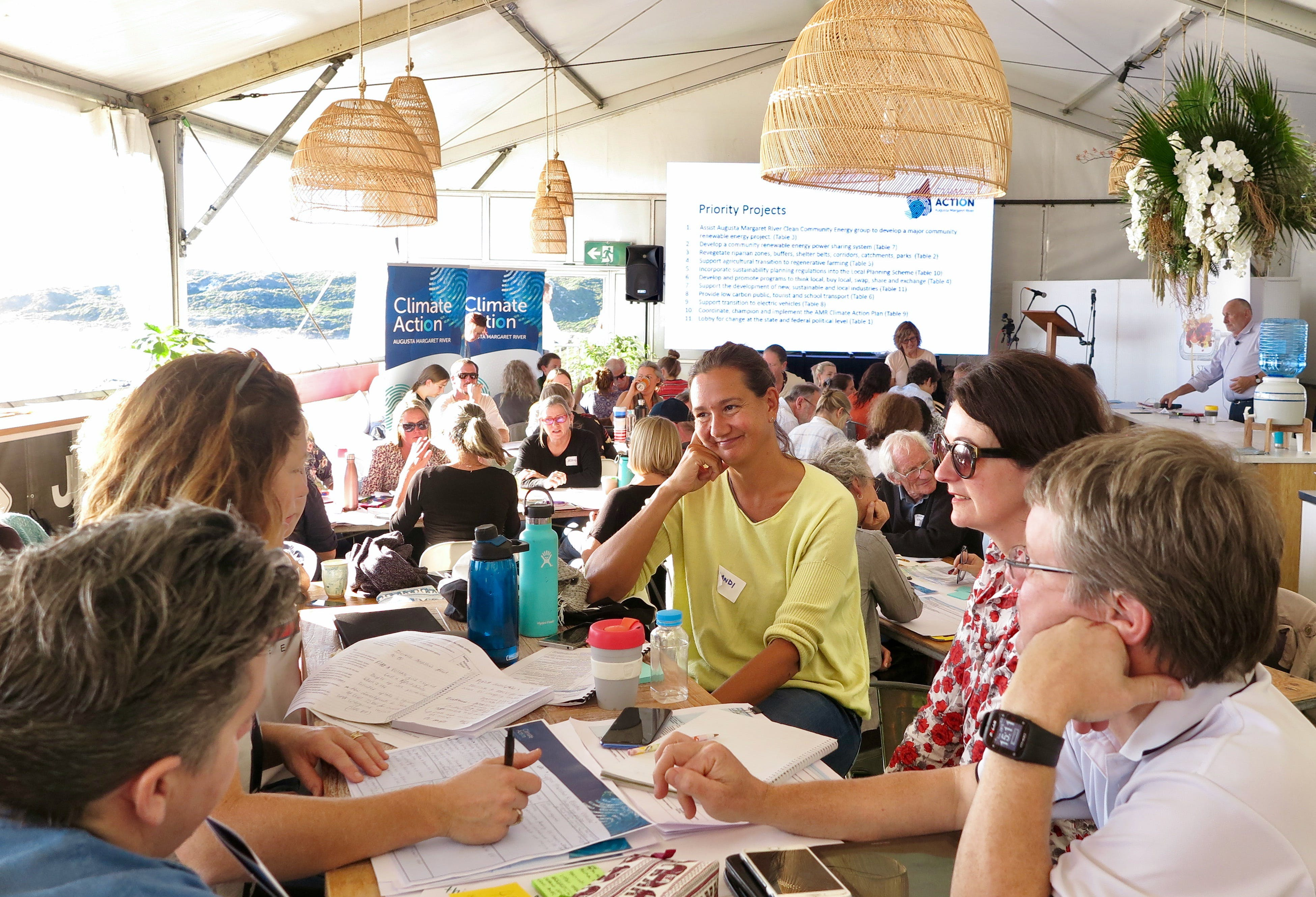 The Climate Action Summit in Margaret River on 28 May 2019