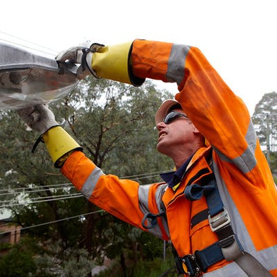 Streetlight repair