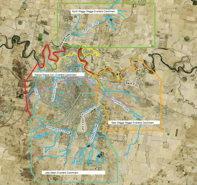Major Overland Flow Floodplain