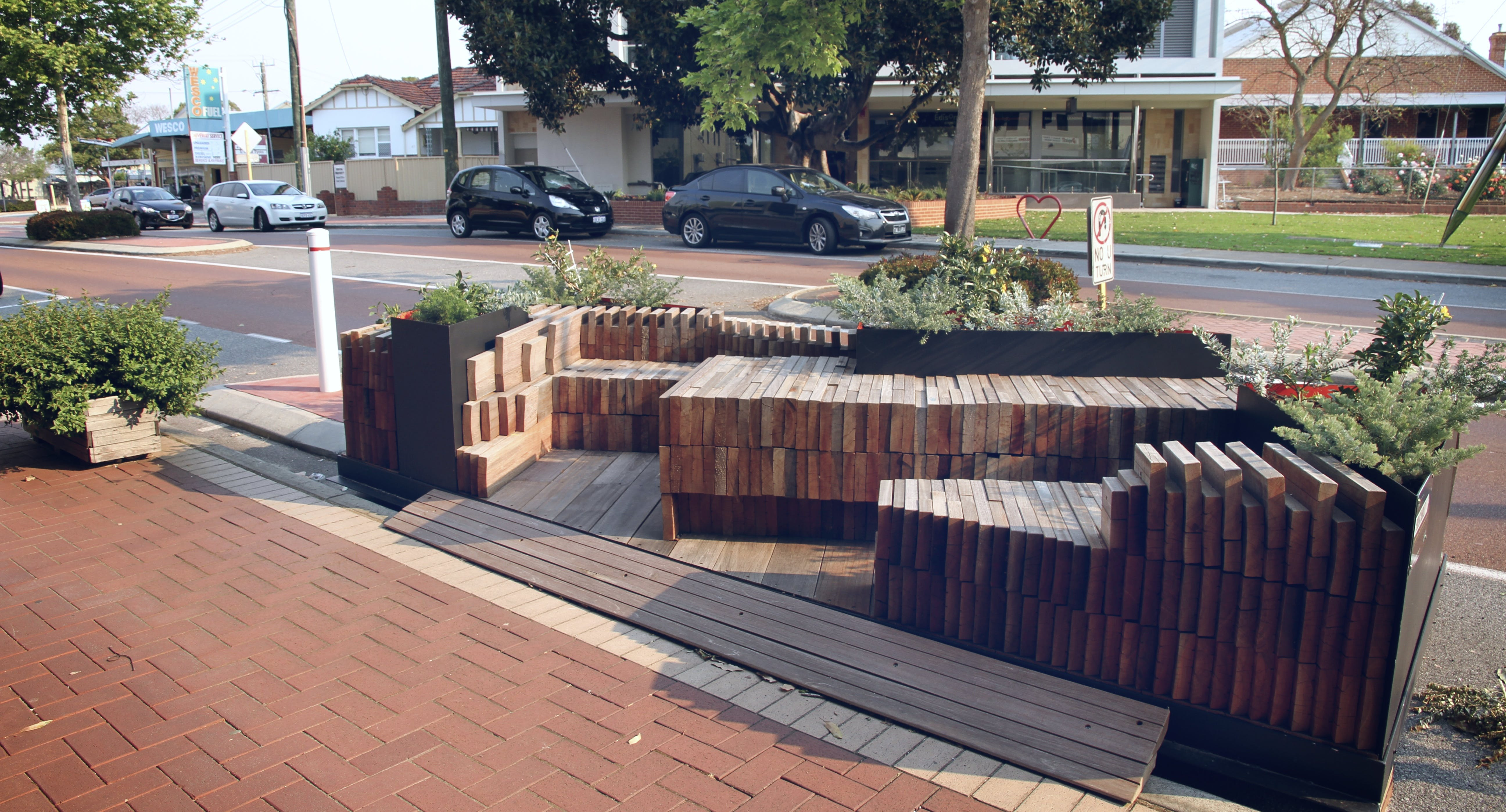Angove Street Parklet