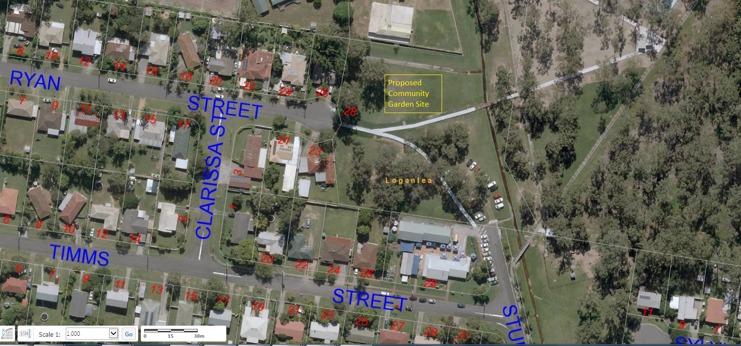 Proposed Sturdee Park Community Garden