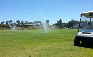 Recycled water for local golf courses
