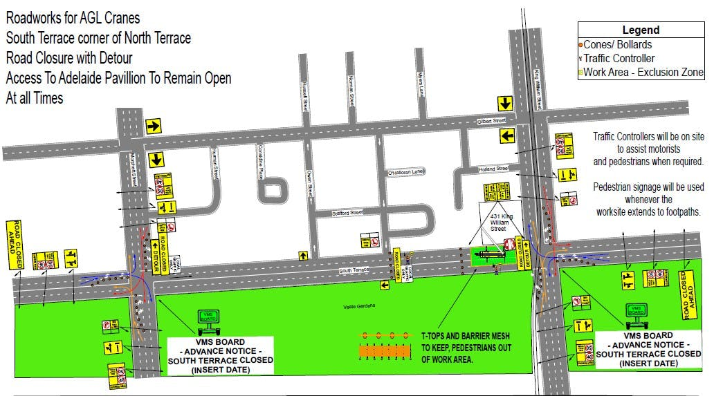 Traffic Mgt Plan   North Tce