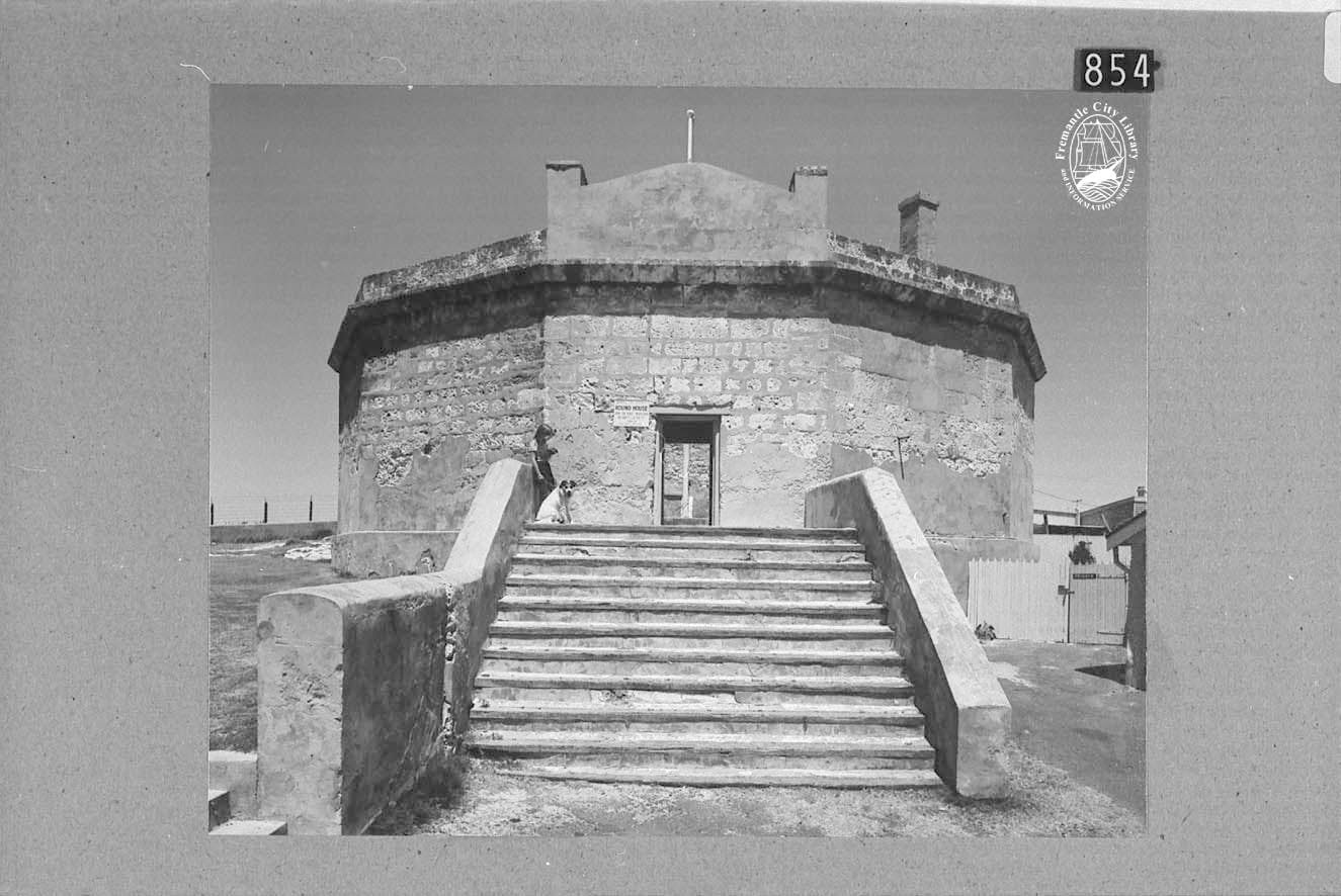 LH000854: 'View of Round House before restoration'