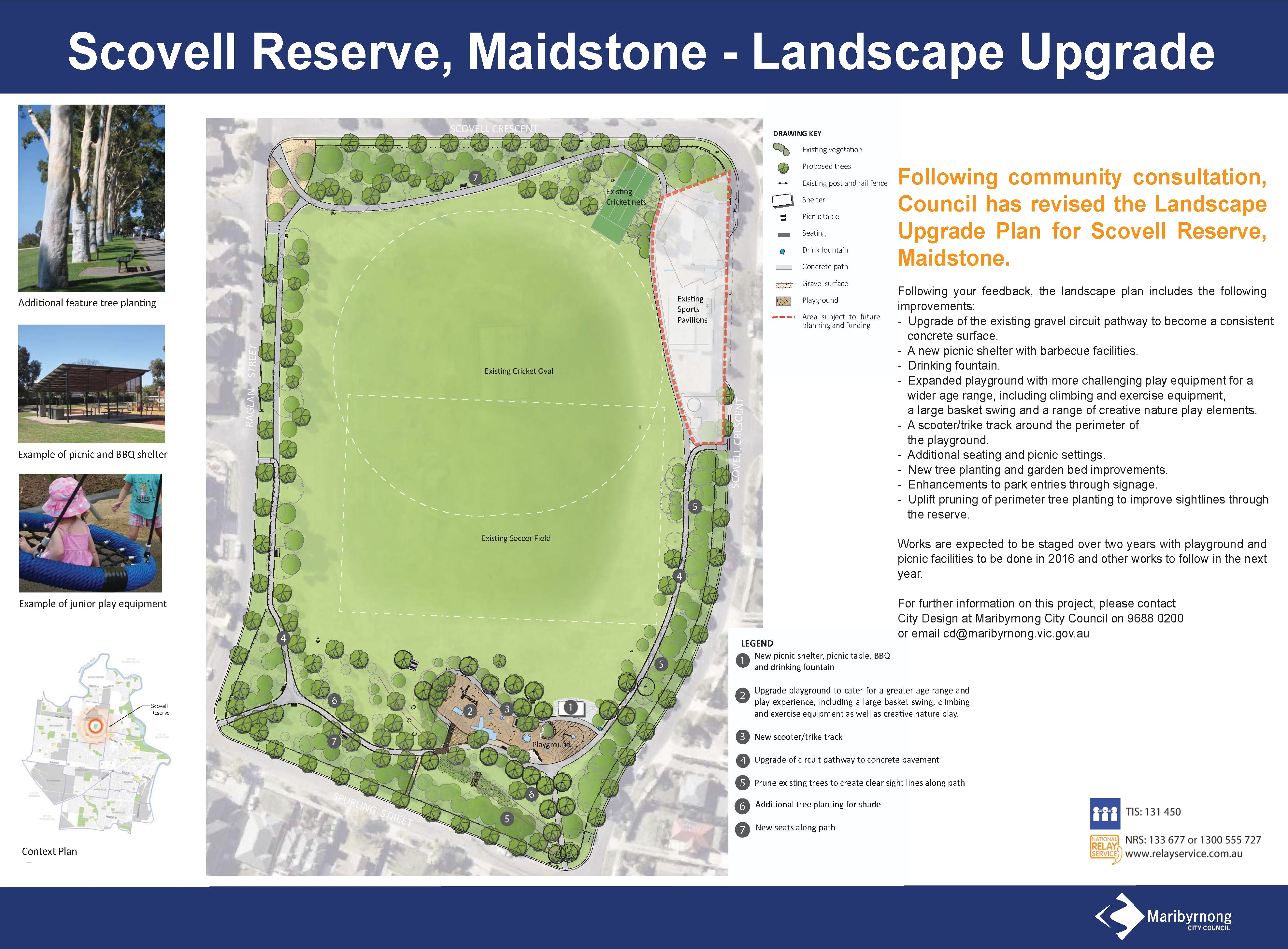 Scovell Reserve Final Masterplan