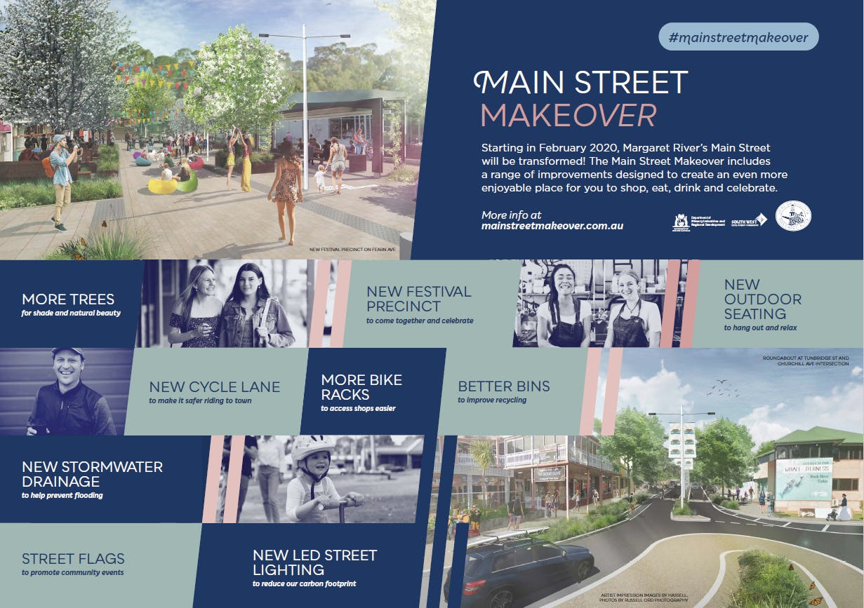 Main Street Makeover Project Board