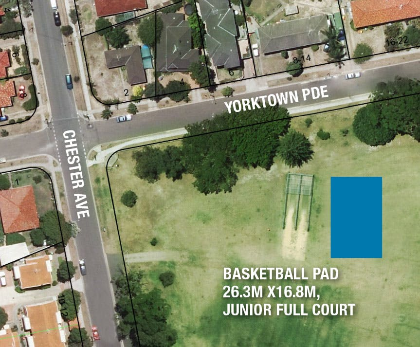 Location for the new court