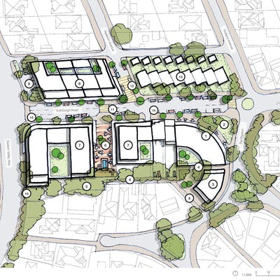 Indicative Castlecrag Master Plan