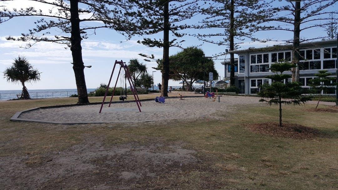 Buhk Family Park playground equipment