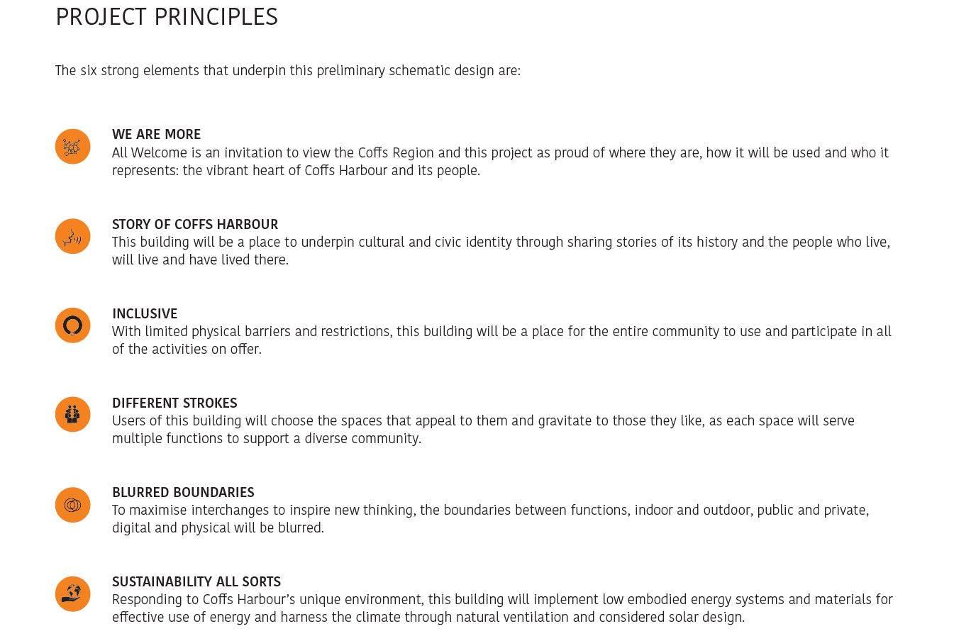 Project Principles