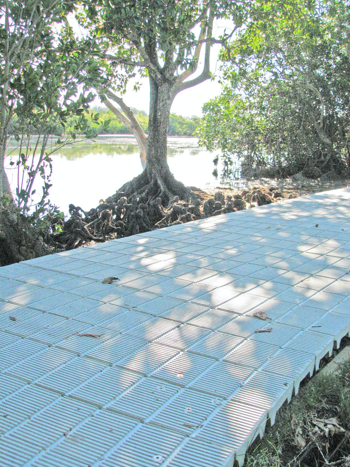 Recycled plastic boardwalks used in parks and coastal pathways across the Tweed