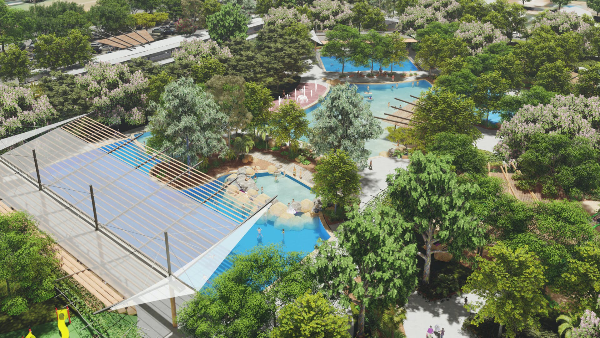 Casuarina Aquatic and Leisure Centre - Site Overview