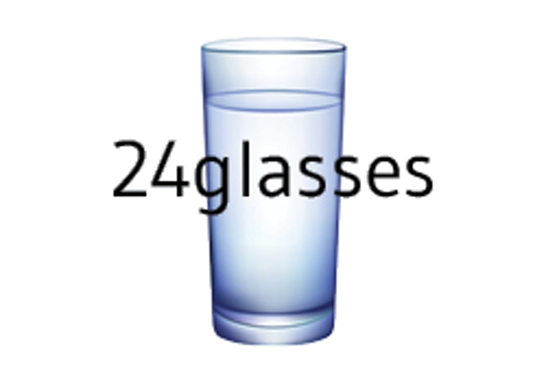 24 Glasses logo
