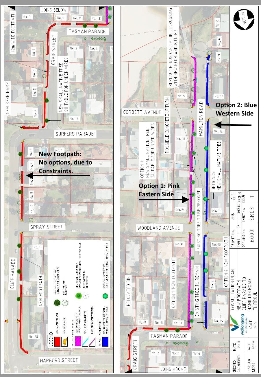 Consultation Design Map Hamilton Road