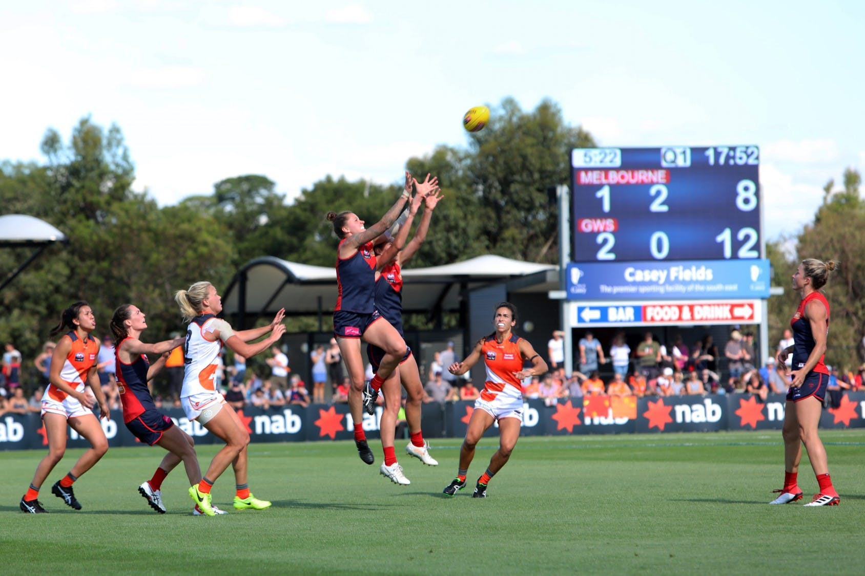 In Action: Regional AFL Oval Melbourne Demons AFLW match 2018