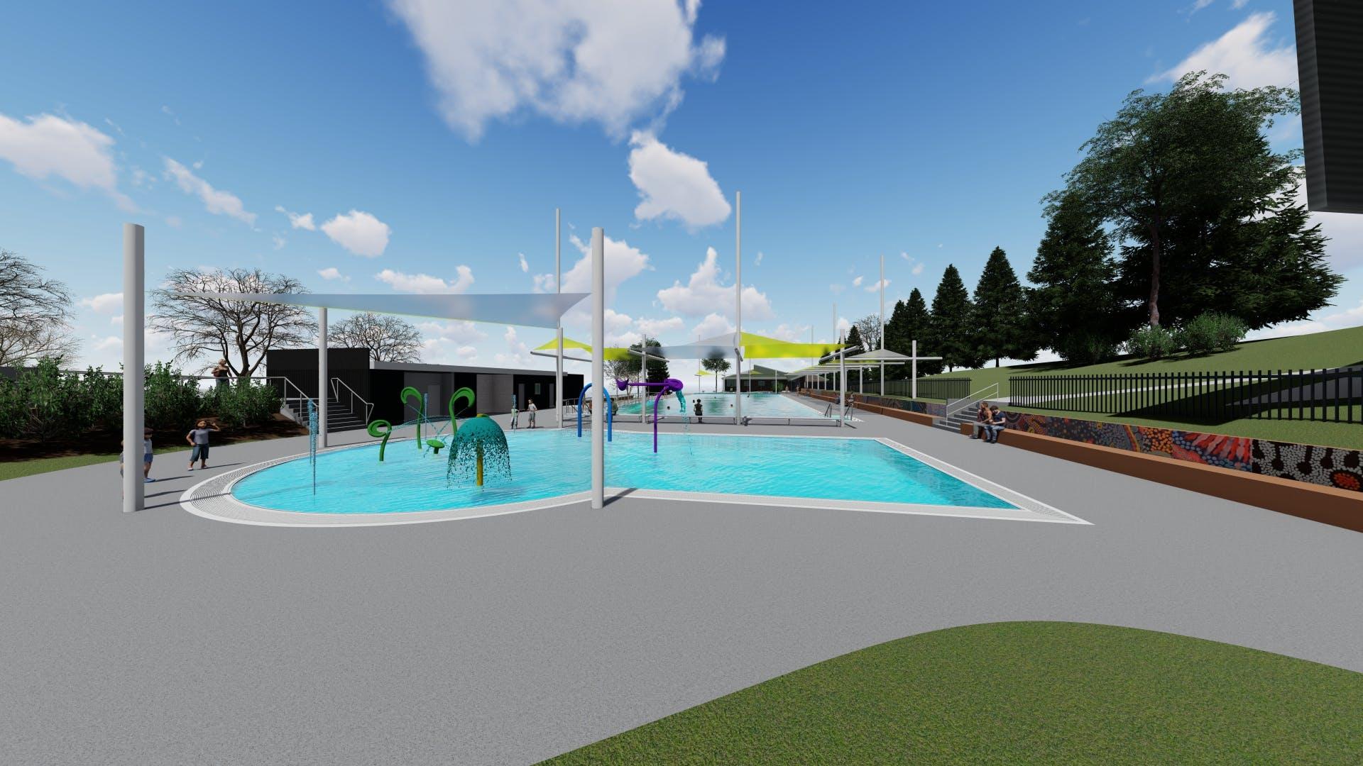 Children's Pool - concept design