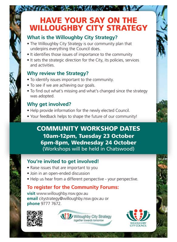 Invitation to Community Workshop