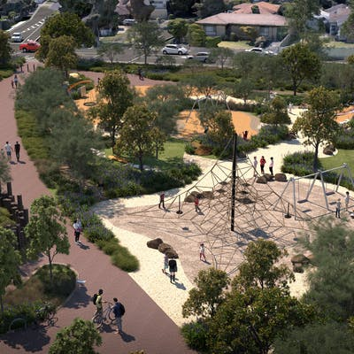 Seaford revitalisation - final designs
