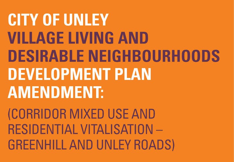 Unley Development Plan Amendment