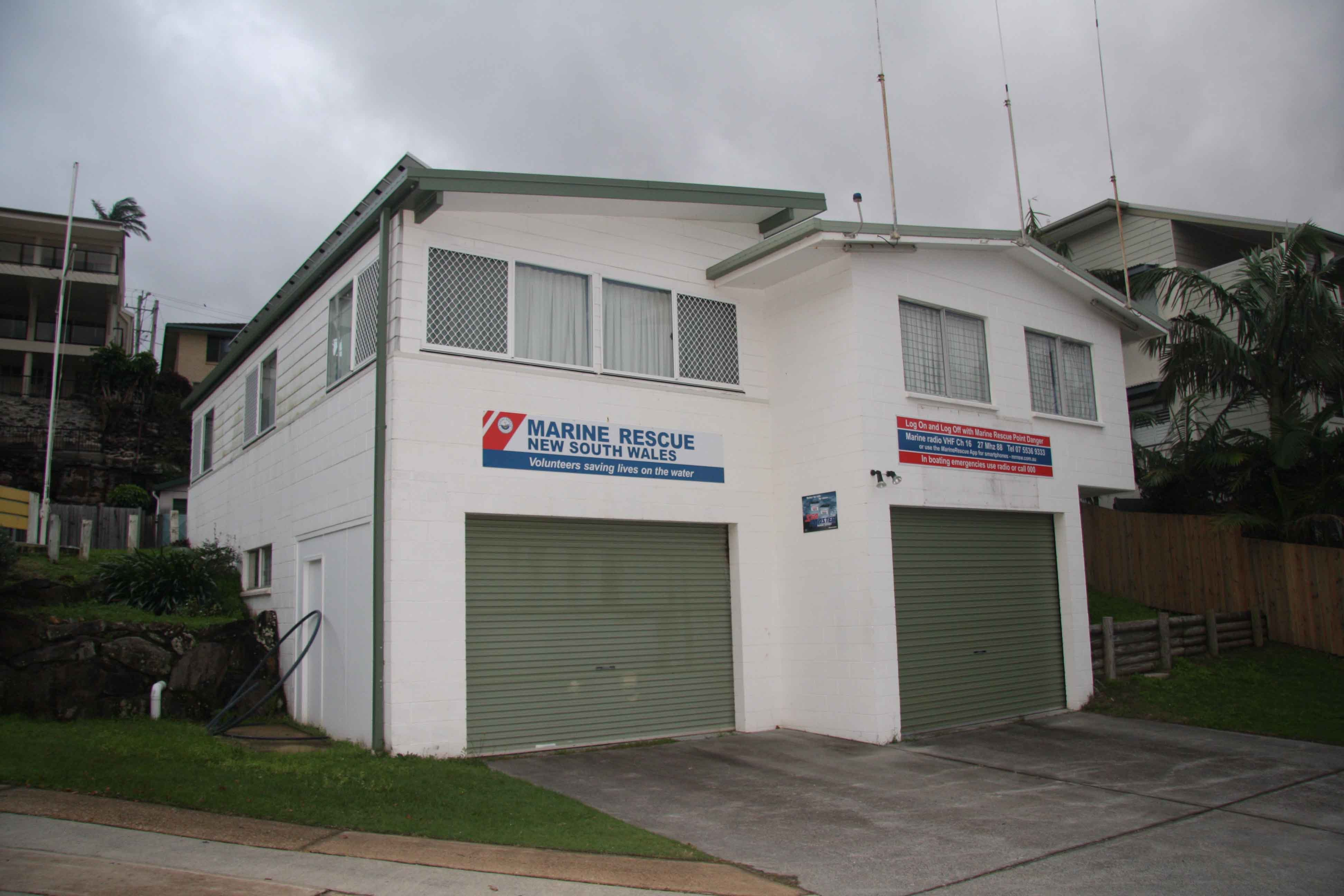 Kingscliff Coast Guard training building