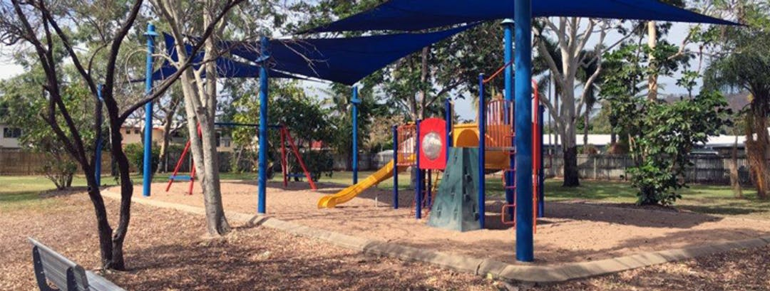 Image of the existing playground pending renewal