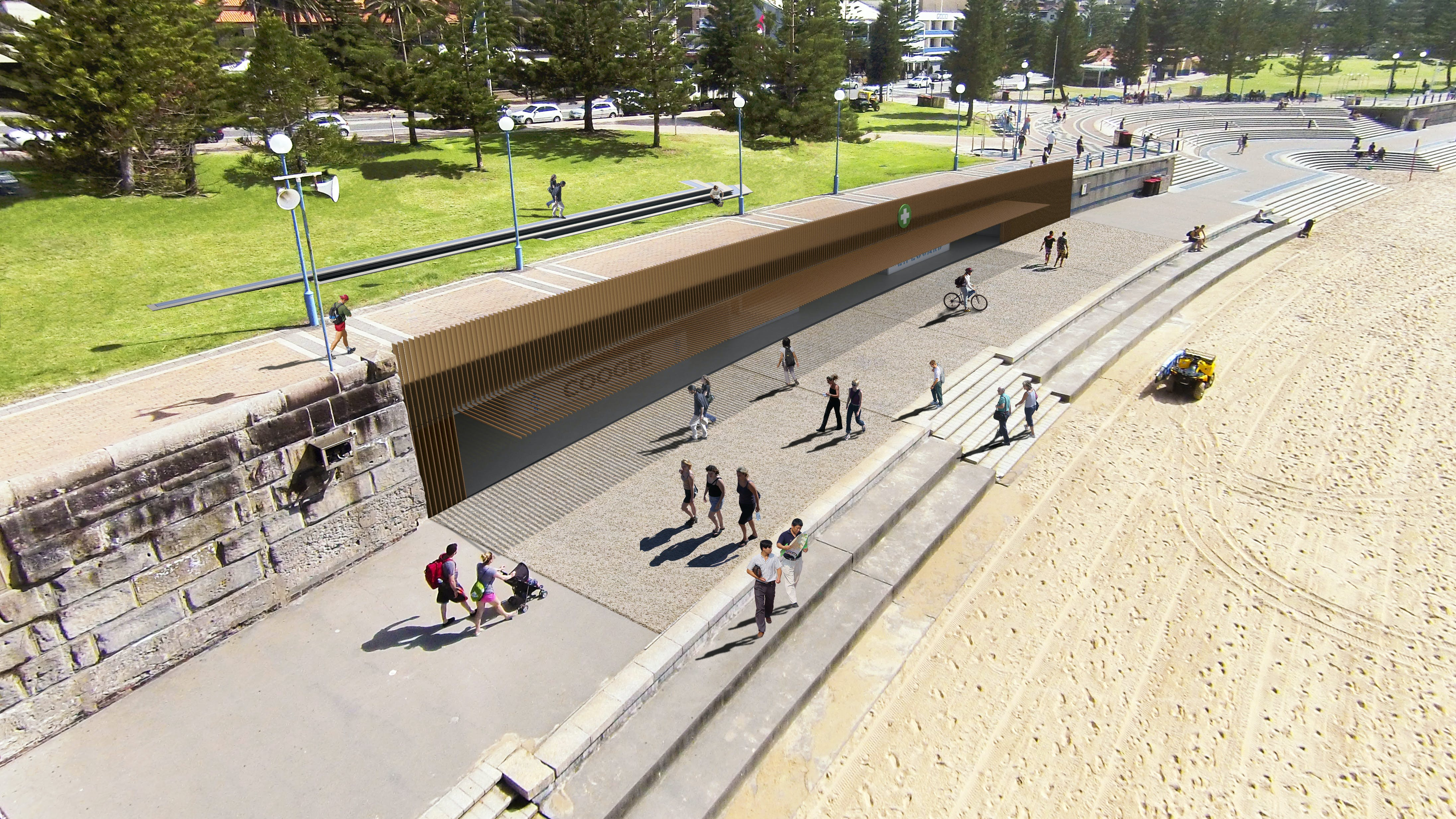 New toilets at Coogee Beach