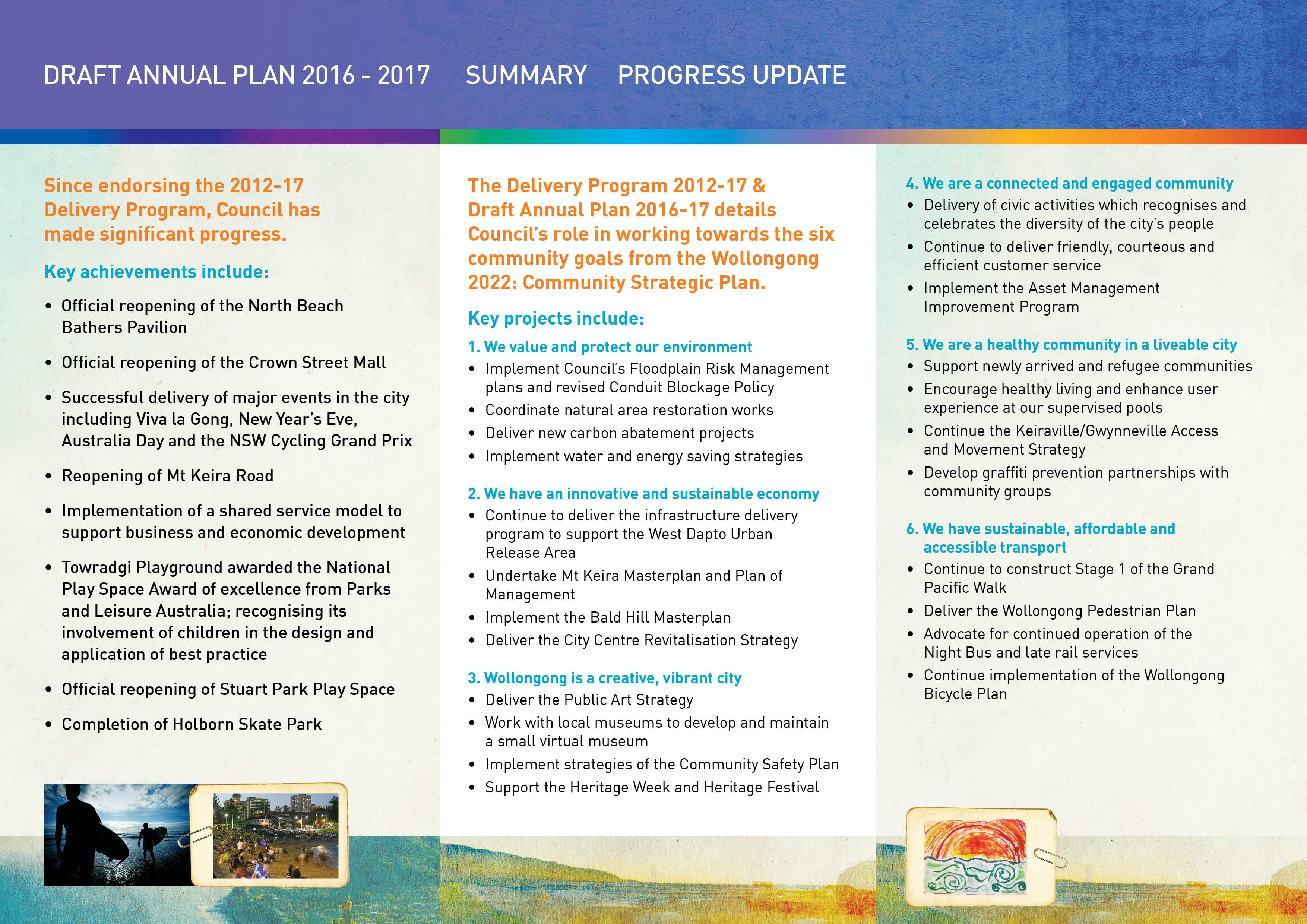 Annual Plan 2016-17 Flyer Page 2