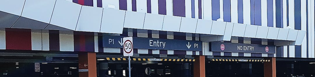 Stockland parking entry