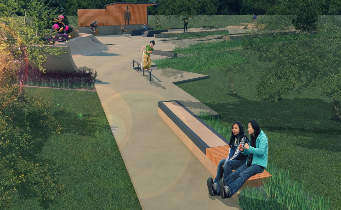 Concept Plan For Rushcutters Bay Park Youth Recreation Area 3
